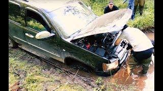 """Не нарушаем! Скрытная установка лебедки на Chevrolet Tahoe 900. Тестируем лебедку """"T-MAX 12500"""""""