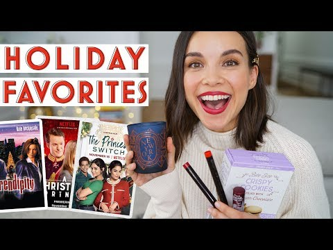 Christmas Movie Reviews + Early Holiday Favorites | Ingrid Nilsen