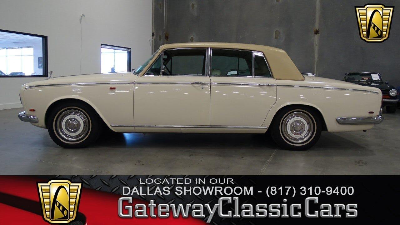 1969 rolls royce silver shadow 422 dfw gateway classic for Rolls royce motor cars dallas
