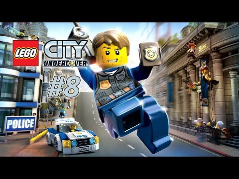 Lego City Undercover #8 - Stealing A Ridiculously Large Emerald