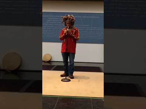 Nottoway Indian Tribe of Virginia Performers, VMFA Family Day 2017(2)