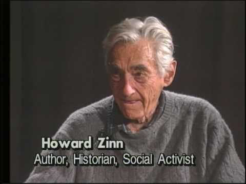 Howard Zinn on President Obama Recieving Nobel Peace Prize