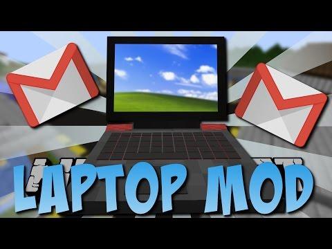LAPTOP MOD (Email, Zeichnen, Bank-App) [Deutsch]