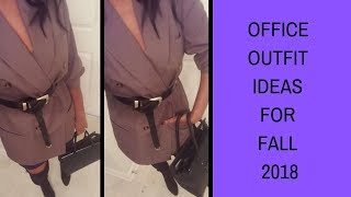 Office outfit Ideas for fall 2018 | What to wear to work  | Roxie Stars