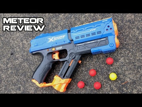 X-SHOT CHAOS METEOR BLASTER REVIEW (I Have Waited So Long For This!) | Walcom S7