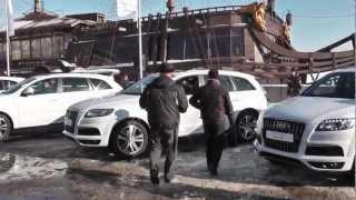 видео Звезды «Зенита» и Audi Q7
