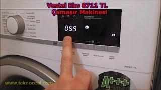 Vestel EKO 8711 TL A+++ 8 kg Çamaşır Makinesi İnceleme Videosu