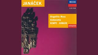 Janácek: Sinfonietta - 5. Andante con moto - Maestoso - Tempo I - Allegretto - Allegro -...