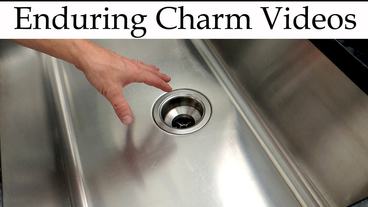 Re Your Stainless Steel Sink You