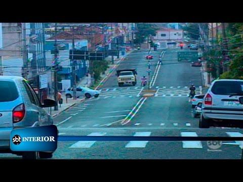 Semáforos recebem temporizadores em Presidente Prudente