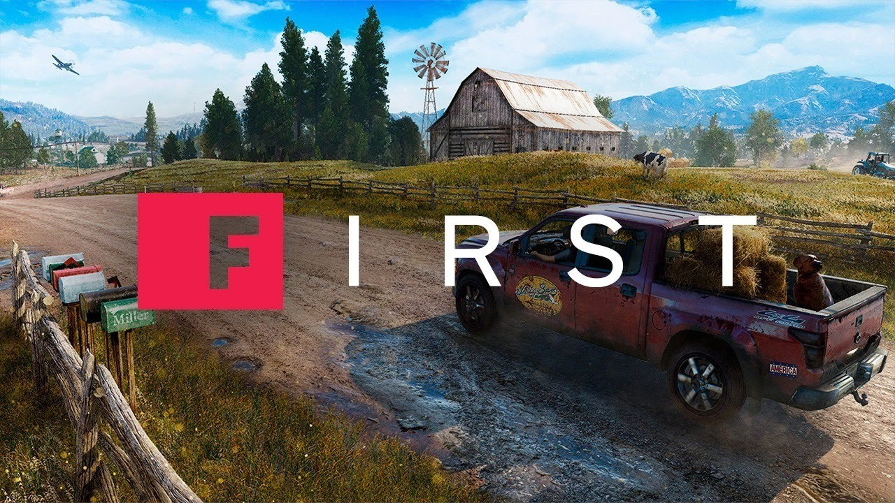 Far Cry 5's Vehicles of Mayhem - IGN First - YouTube