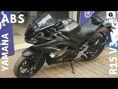2019 Yamaha R15 V3 ABS 🔥 | dark knight | detailed review | price | features | specs !!!