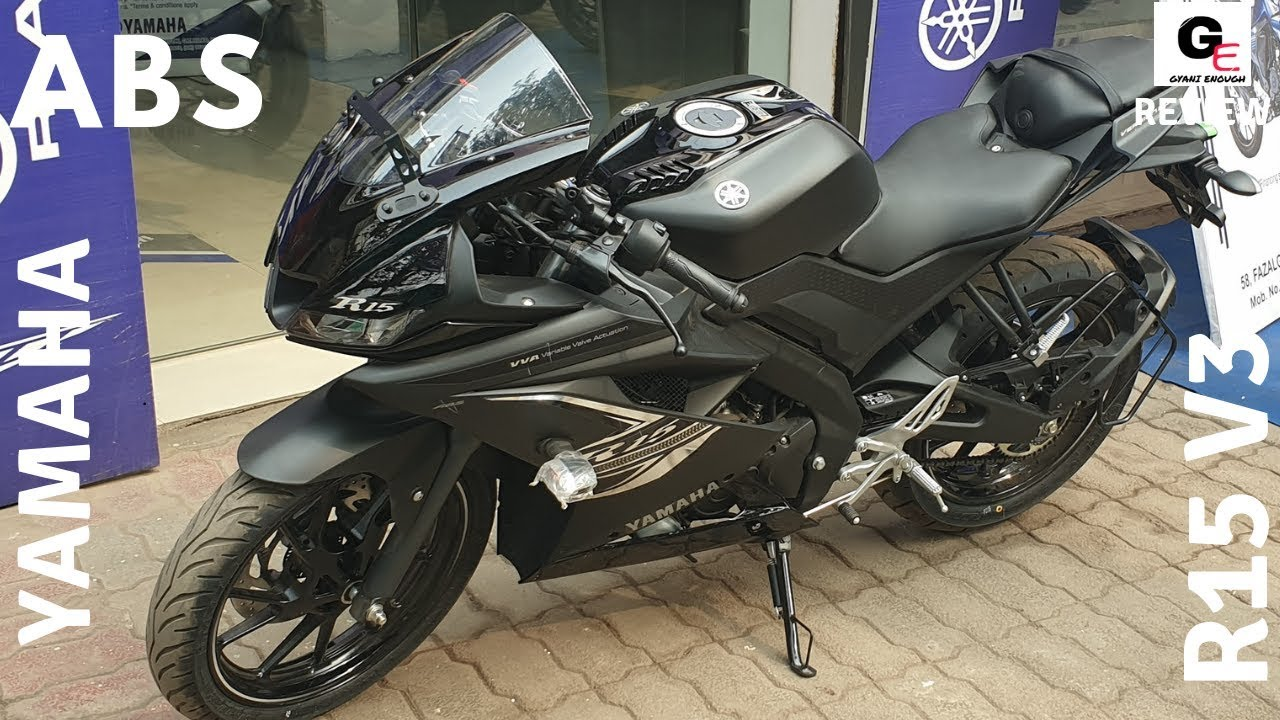 2019 Yamaha R15 V3 Abs Dark Knight Detailed Review Price Features Specs
