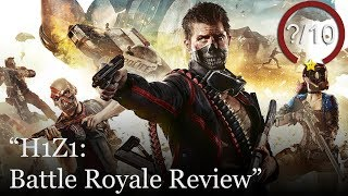 H1Z1: Battle Royale Review [PS4, Xbox One, & PC] - Free to Play (Video Game Video Review)