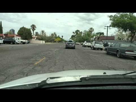 Uber Advanced Technologies Self Driving Car in Tucson