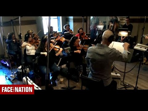 "Behind the Scenes: Recording the new ""Face the Nation"" theme"