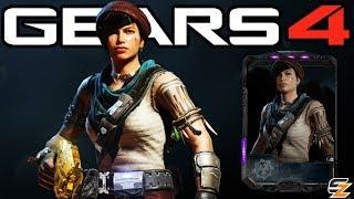 "Gears of War 4 - ""Outer Wilds Kait"" Character Multiplayer Gameplay! (GEARS 5 SCAVENGER DLC)"