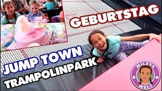 GEBURTSTAGSPARTY im TRAMPOLINPARK Jump Town - Family Fun