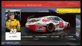 NASCAR Heat 4 - Erik Jones @ Texas (Sport Clips)