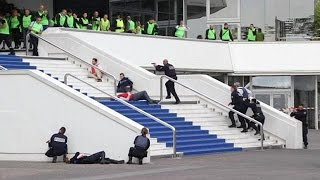 Video Terrorist attack simulation in Cannes before film festival download MP3, 3GP, MP4, WEBM, AVI, FLV September 2018