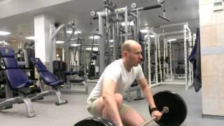 Становая тяга, 100кг рабочий вес