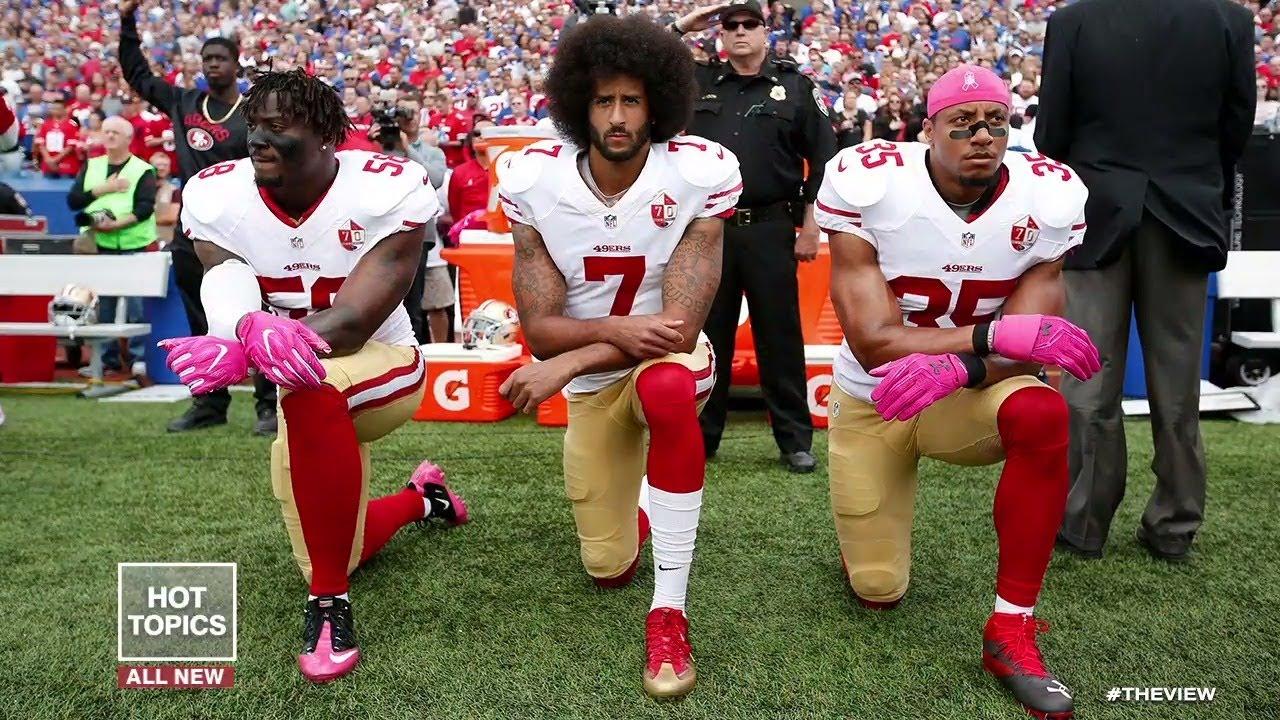 Kneeling Debate Reignited | The View