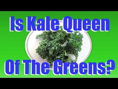 The Benefits of Kale - The Health Benefits of Kale Greens - Kale Chips Recipe