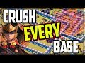 Crush EVERY Base! Clash Of Clans OVERPOWERED Strategy!