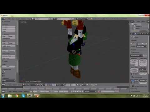 How to Extract 3D Models from Zelda64 Games