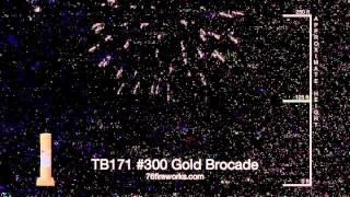 TB171 #300 Gold Brocade