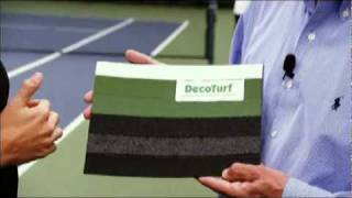 DecoTurf Cushioned Tennis Court System at the US Open