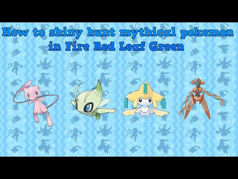 (Pomeg Glitch) How To Hunt Mew, Celebi, Jirachi, Deoxys And Any Undiscovered Pokemon In FRLG