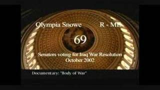 """Body Of War"" - Cowardly Congress-Spineless Senate 6 of 7"
