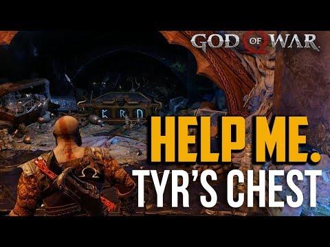 God of War PS4 : Tyr's Vault Chest Seals Locations (CRN 3 Magic Ruins)