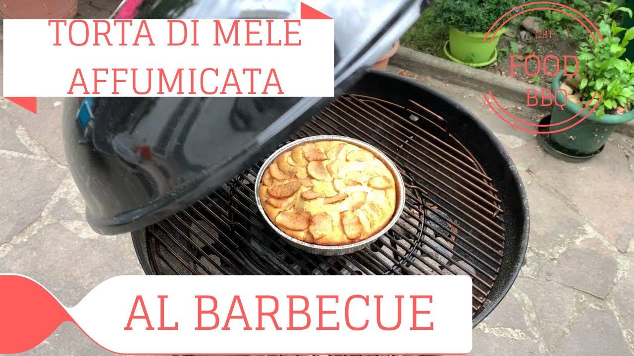 TORTA DI MELE AFFUMICATA (Cotta nel Barbecue)