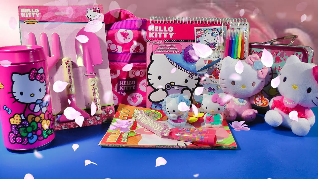 Toy Hello Kitty Watch : Hello kitty toys collection biggest surprise ハローキティ my