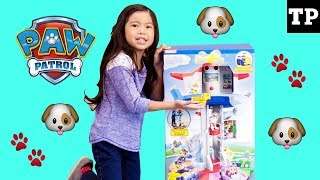 Unboxing- Paw Patrol My Size Lookout Tower