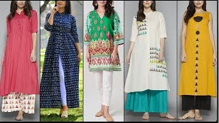 Top Kurti Designs for Girls for College and Office|| Best Kurti Designs