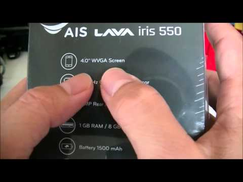 Review AIS Super Combo Lava 4G - iris 550  - Unbox