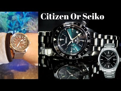 Citizen Or Seiko - Who Rules The Streets of Japan - Q & A