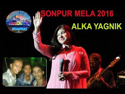 ALKA YAGNIK STAGE PROGRAM IN SONPUR MELA 12 NOV 2016