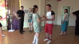 Уроки по сальсе от Chilli Dance Studio 11.06.2015 (часть 2)