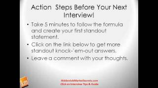 Interview Tips for Jobs Why Should We Hire You? The Great Answer