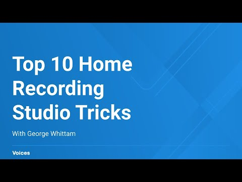 Top 10 Home Recording Studio Tricks