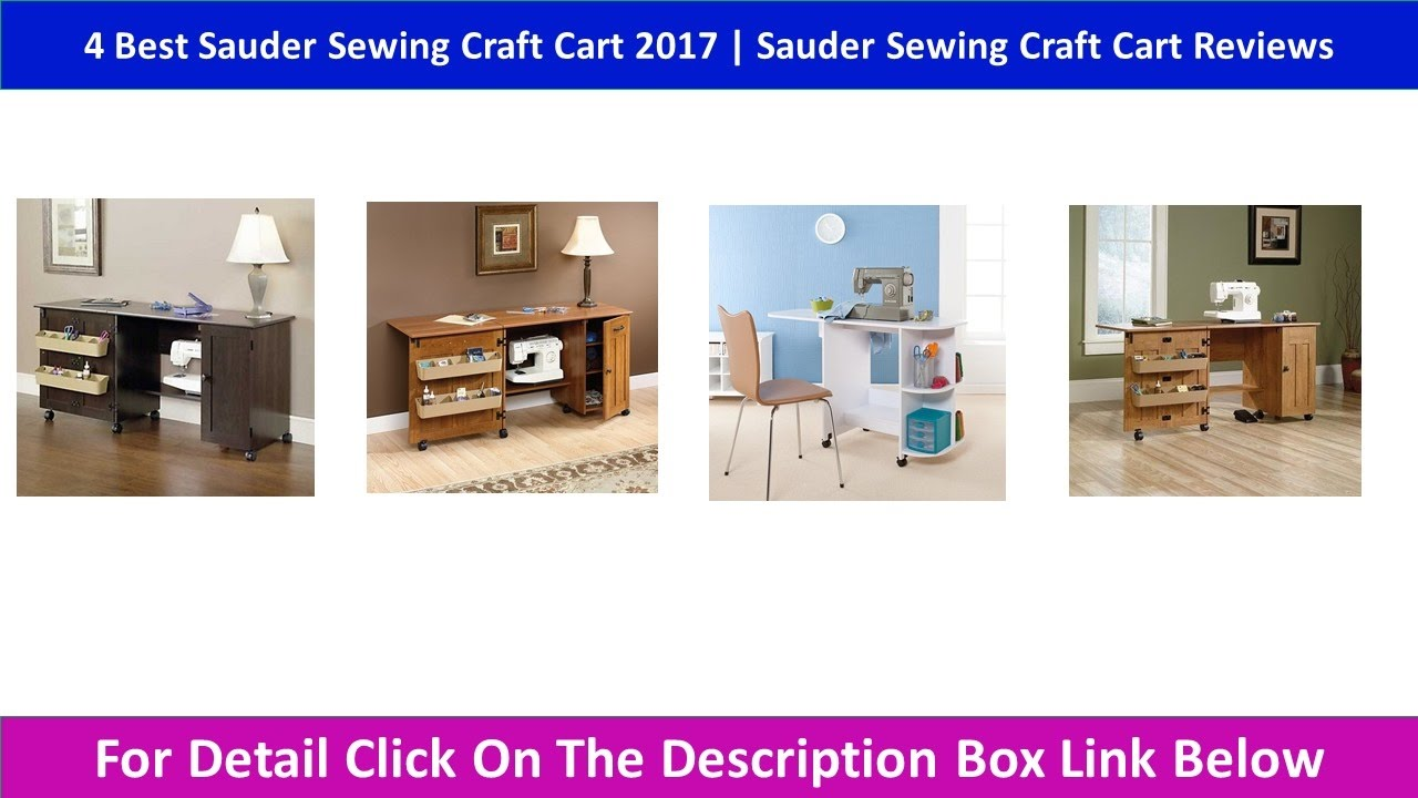 4 Best Sauder Sewing Craft Cart 2017 | Sauder Sewing Craft Cart Reviews