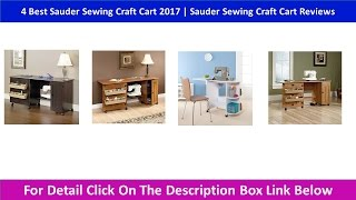 4 Best Sauder Sewing Craft Cart 2017 | Sauder Sewing Craft Cart Reviews
