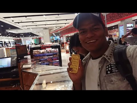 Buying 1kg gold at dubai airport