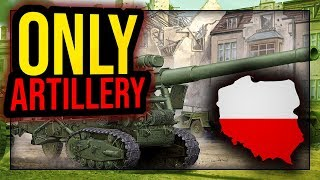 Polska Artillery Only | Hearts of Iron IV