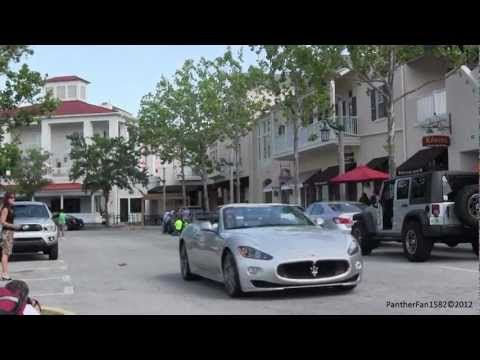(HD) Celebration Exotic Car Rally 4-15-2012