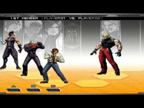 [TAS] The King Of Fighters 2002 UM PS2 - Nameless, Kyo, K' TeamPlay